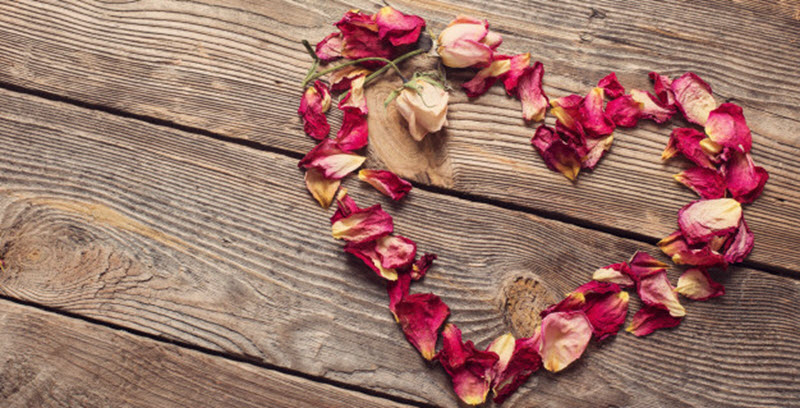 Dried rose petals for sale - Heart Health
