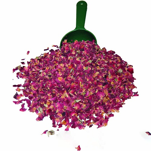 bulk dried edible rose petals
